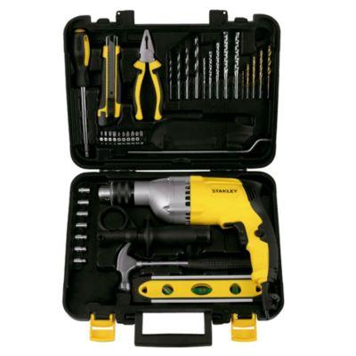 Taladro Percutor 800W + 36 Accesorios STDH8013KA