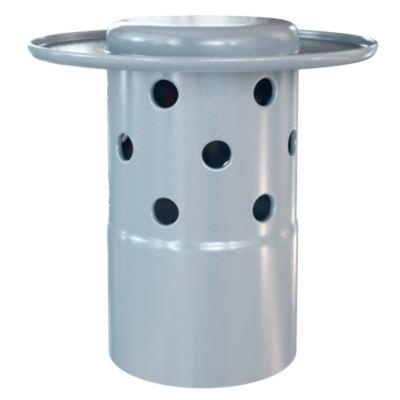 Sombrero Ventilación de PVC 6''