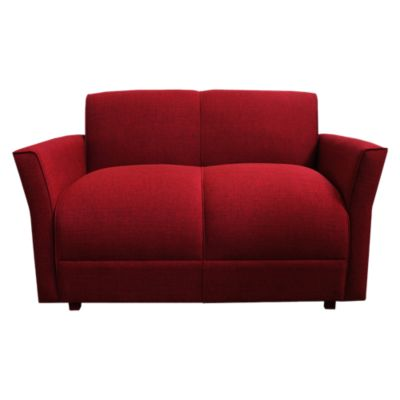 Sofá Turin 2 Cuerpos Rojo