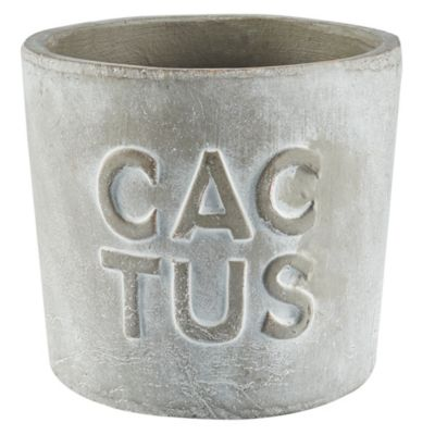 Maceta Tarracota Cactus 18x16cm