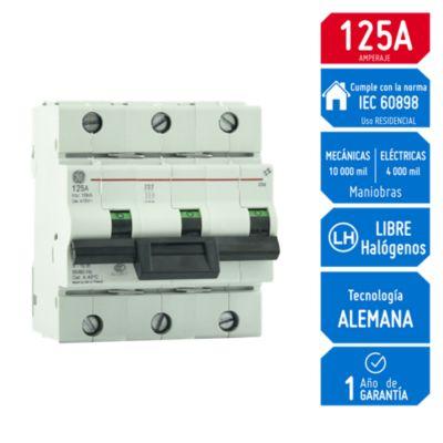 Interruptor Termomagnético 3x125A HTI