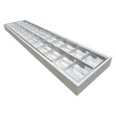 Rejilla Adosable Led 2x18W