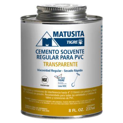 Cemento Solvente PVC Regular 237mL