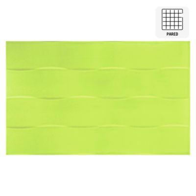 Cerámica Dunas Verde 25x40cm para pared