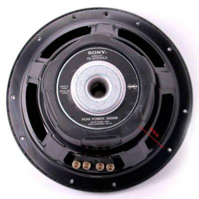 Subwoofer XSGTR121LD 3D