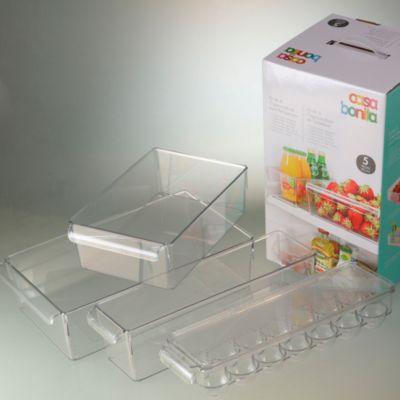 Set de 4 Piezas para Refrigeradora