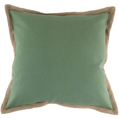 Cojín de Yute 50x50cm Verde