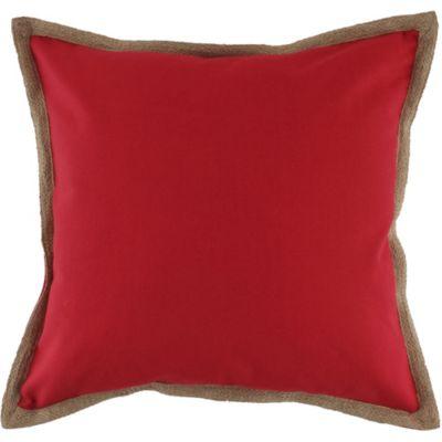 Cojín Terrazas 50x50 Yute rojo