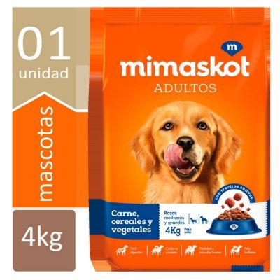 Comida para Perros Adultos Razas Medianas y Grandes 4kg