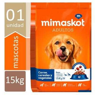 Comida para Perros Adultos Carnes, Cereales y Vegetales 15 kg