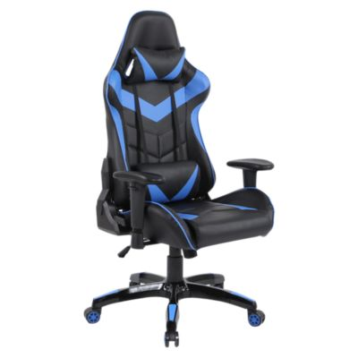 Silla Gamers RTA-1524 Azul y Negro