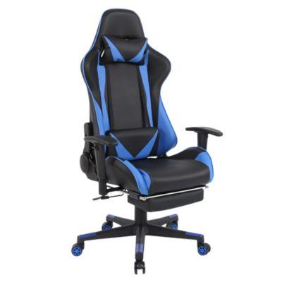 Silla Gamers RTA-1711 Azul y Negro