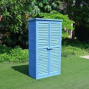 Caseta de Madera para Jardín 87x46x160 cm