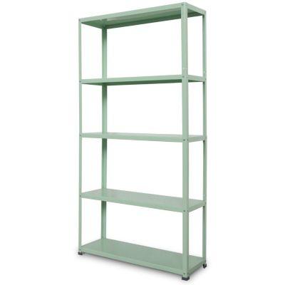 Estante de metal 30x90x175cm Verde