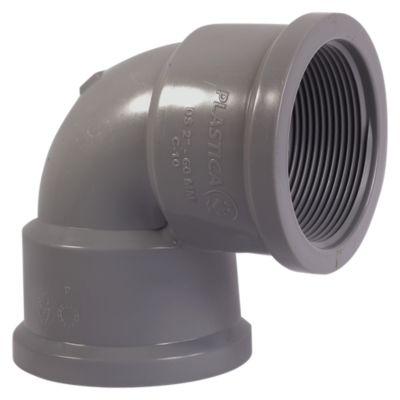 """Codo PVC 1 1/2""""x 90° CR Plastica"""