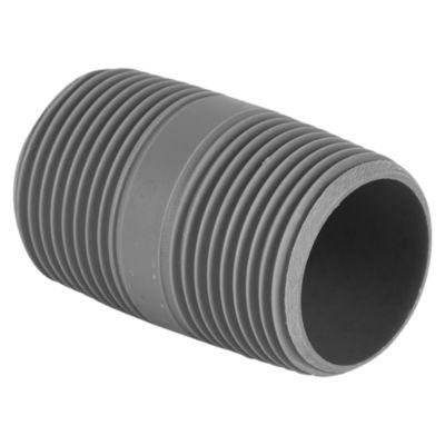 Niple PVC con Rosca 1''x2''