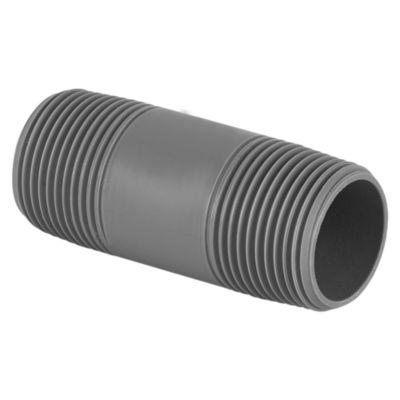 Niple PVC con Rosca 1''x3''