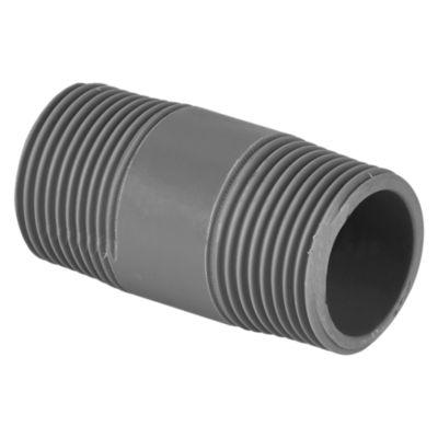 Niple PVC con Rosca 3/4''x 2''