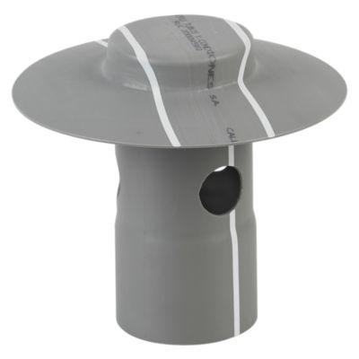 Sombrero PVC Desagüe 2''