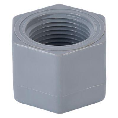Tapón Hembra PVC 1'' C/R