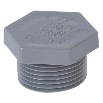 "Tapón Macho PVC 1"" CR Plastica"
