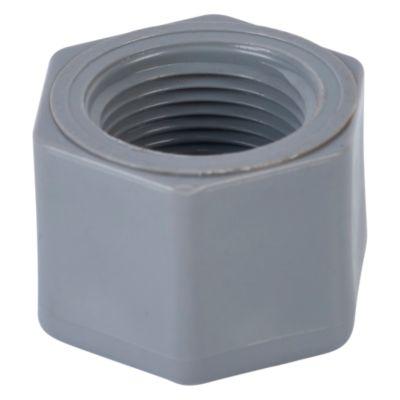 "Tapón Hembra PVC 3/4"" CR Plastica"