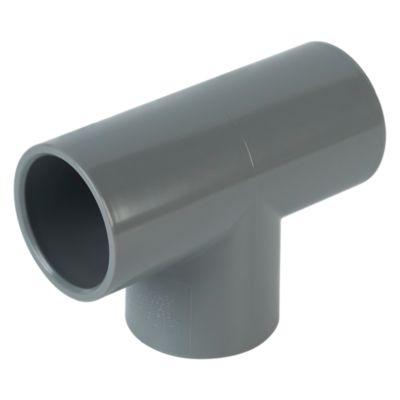 "Tee PVC 1 1/2"" SP Plastica"