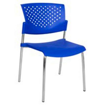 Silla Apilable BG Azul