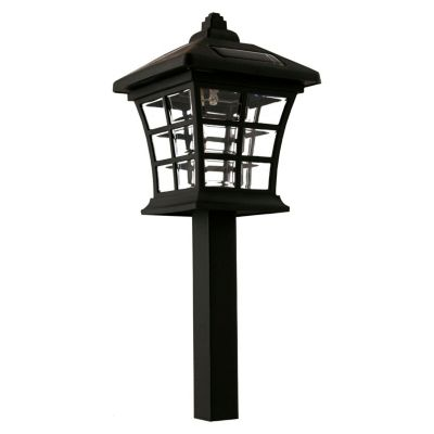 Estaca Solar LED Antique Negra