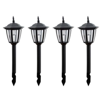 Pack Estaca Solar Led Pagoda x 4