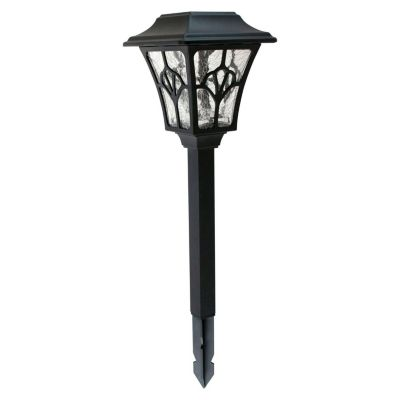 Estaca Solar LED Vintage Negra