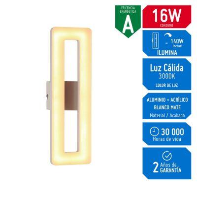 Lámpara Decorativa LED 16W