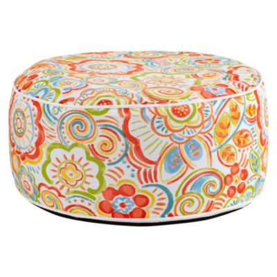 Puff inflable terraza 53x23 cm
