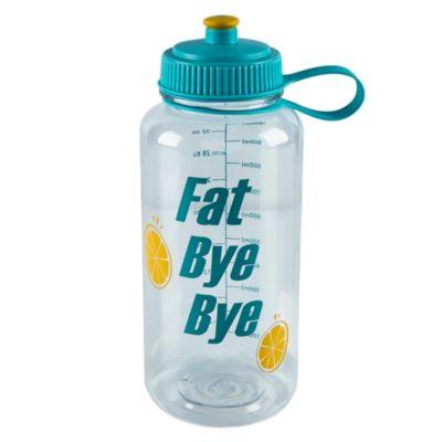 Botella Deportiva para Líquidos Transparente