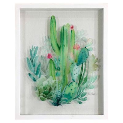 Cuadro Cactus 43x53 cm