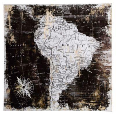 Canvas América 90x90 cm