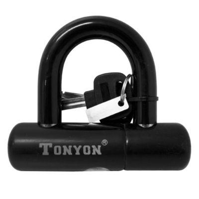 Candado U-Lock Tonyon con llave 100 x 92 x 12mm