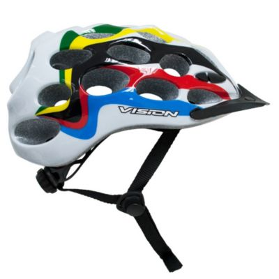 Casco Para Adulto Vision W228 Talla L blanco/multicolor