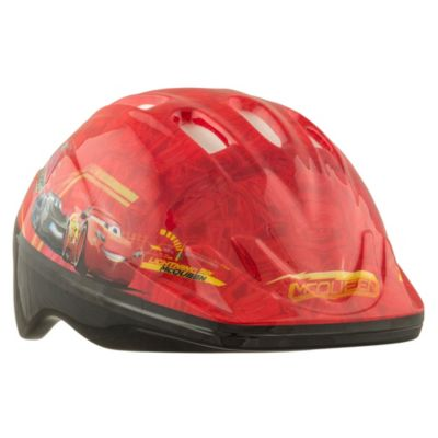 Casco Disney Cars rojo