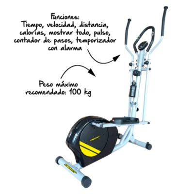Máquina Elíptica Best Fitness Pluton 9400