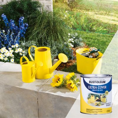 Esmalte al Agua Ultra Cover Amarillo Sol Brillante 0,946L