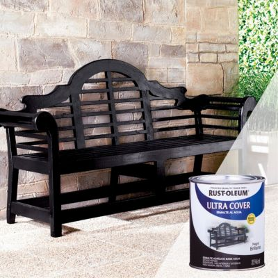 Esmalte al Agua Ultra Cover Negro Brillante 0,946L