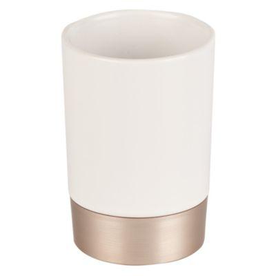 Vaso Sedona 10x6cm Blanco