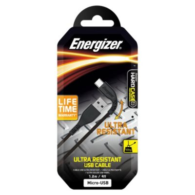 Cable Lifetime Micro USB 1.2m Negro