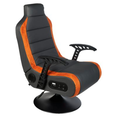 Sillón Gamer Speaker Naranja