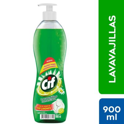 Lavavajillas concentrado 900ml