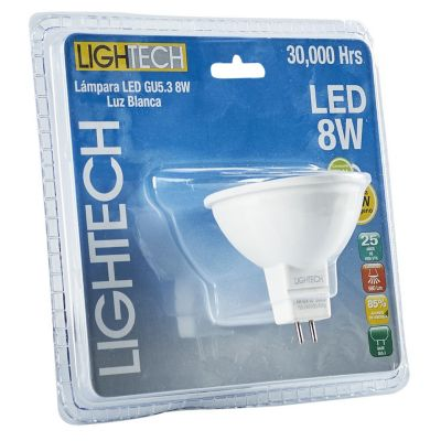 Foco Led 8W GU5.3 Luz Blanca