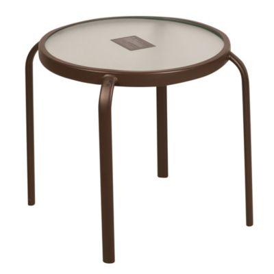Mesa de apoyo redonda 45 cm