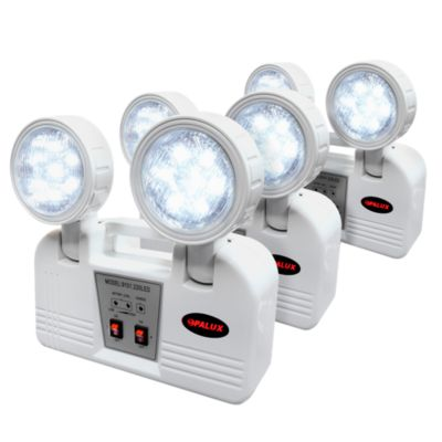 Pack x3 Lámparas de Emergencia 14 LED