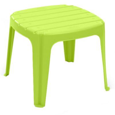 Mesa de jardín verde